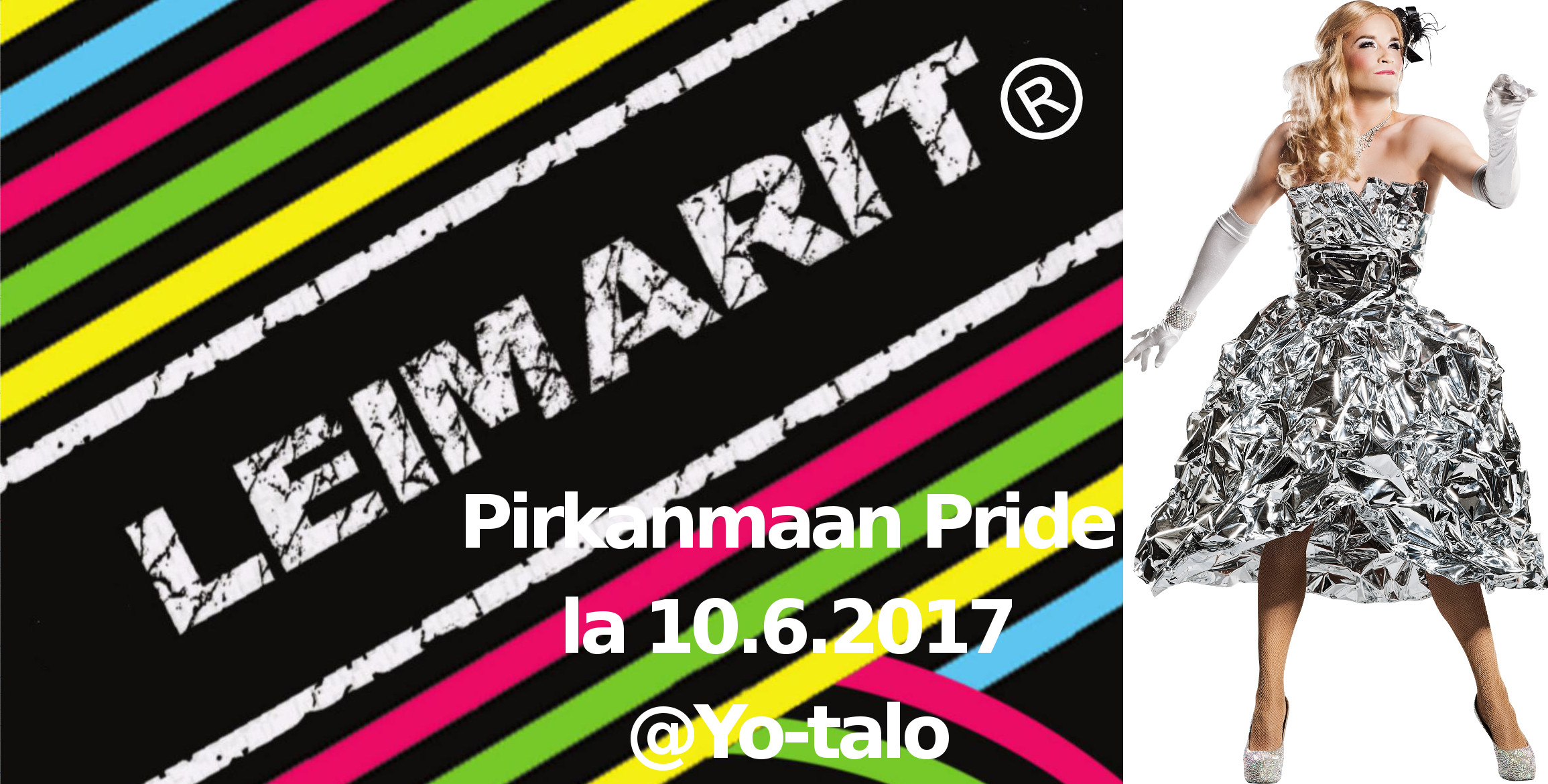 Pirkanmaan Pride -Leimarit® la 10.6.2017