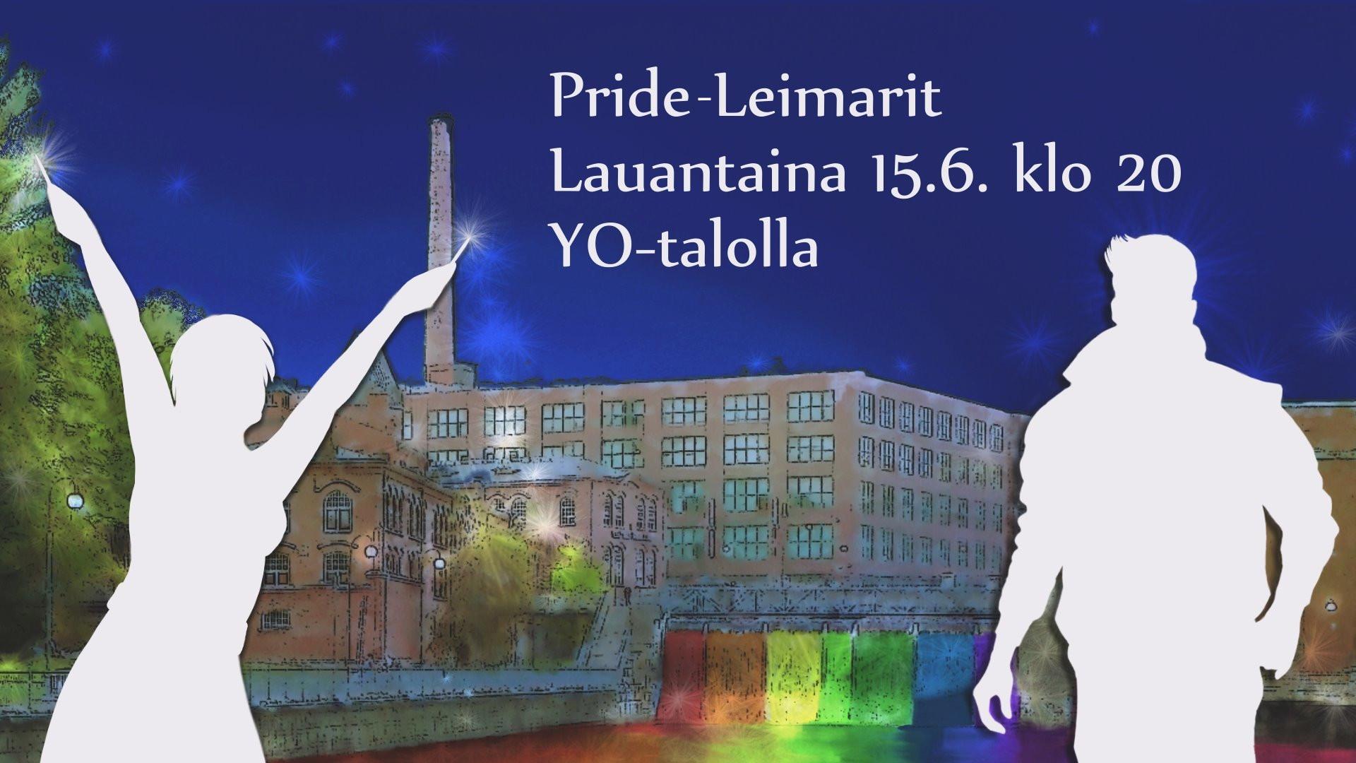 Pirkanmaan Pride -Leimarit la 15.6.2018 klo 22 @yo-talo