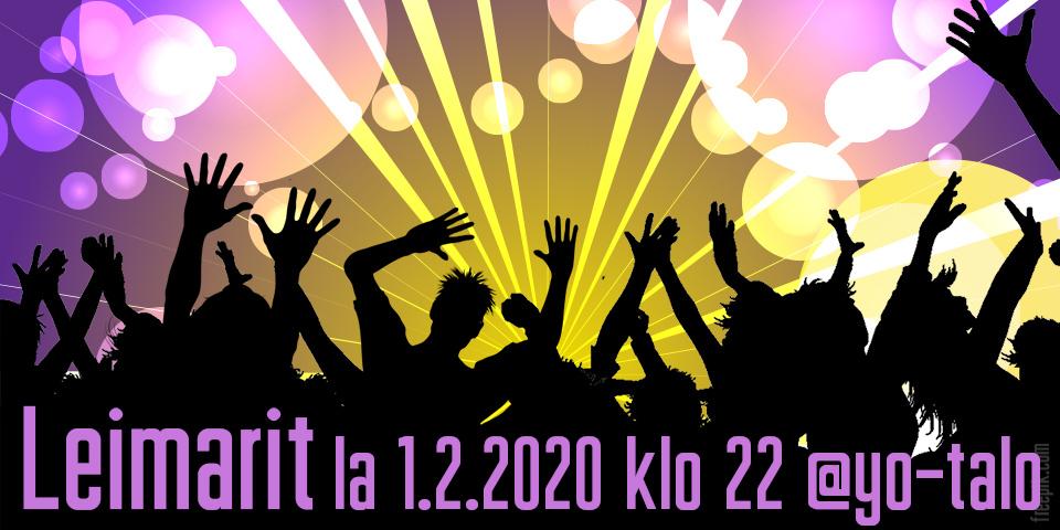 VuodenaloitusLeimarit la 1.2.2020 klo 22 @yo-talo